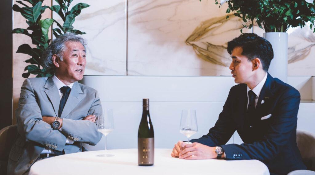 久野社長と近藤さん